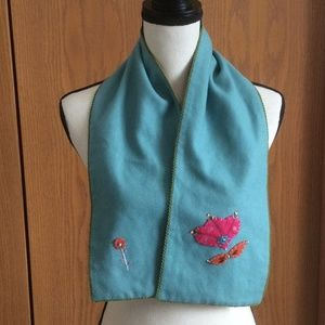 Cute Anthropologie Wool Scarf by Patch NYC